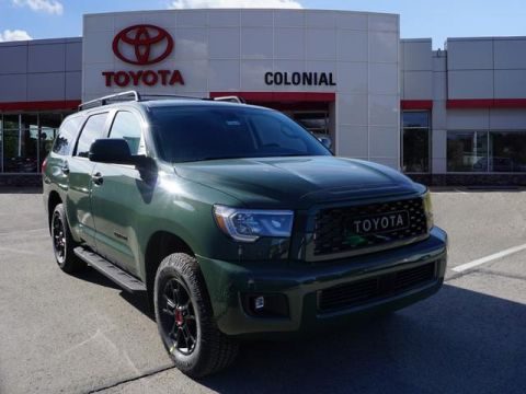 New 2020 Toyota Sequoia TRD Pro 4WD 4x4 TRD Pro 4dr SUV
