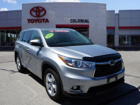 Pre-Owned 2016 Toyota Highlander Hybrid Limited AWD AWD Limited 4dr SUV