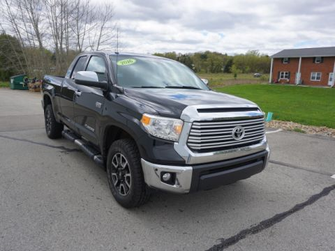 Pre-Owned 2016 Toyota Tundra Limited 4WD 4x4 Limited 4dr Double Cab Pickup SB (5.7L V8)