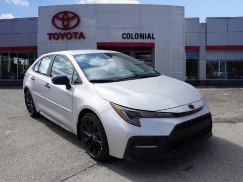 New 2020 Toyota Corolla SE Nightshade Edition FWD SE 4dr Sedan CVT